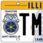 Order Your Illinois Teamster License Plates!
